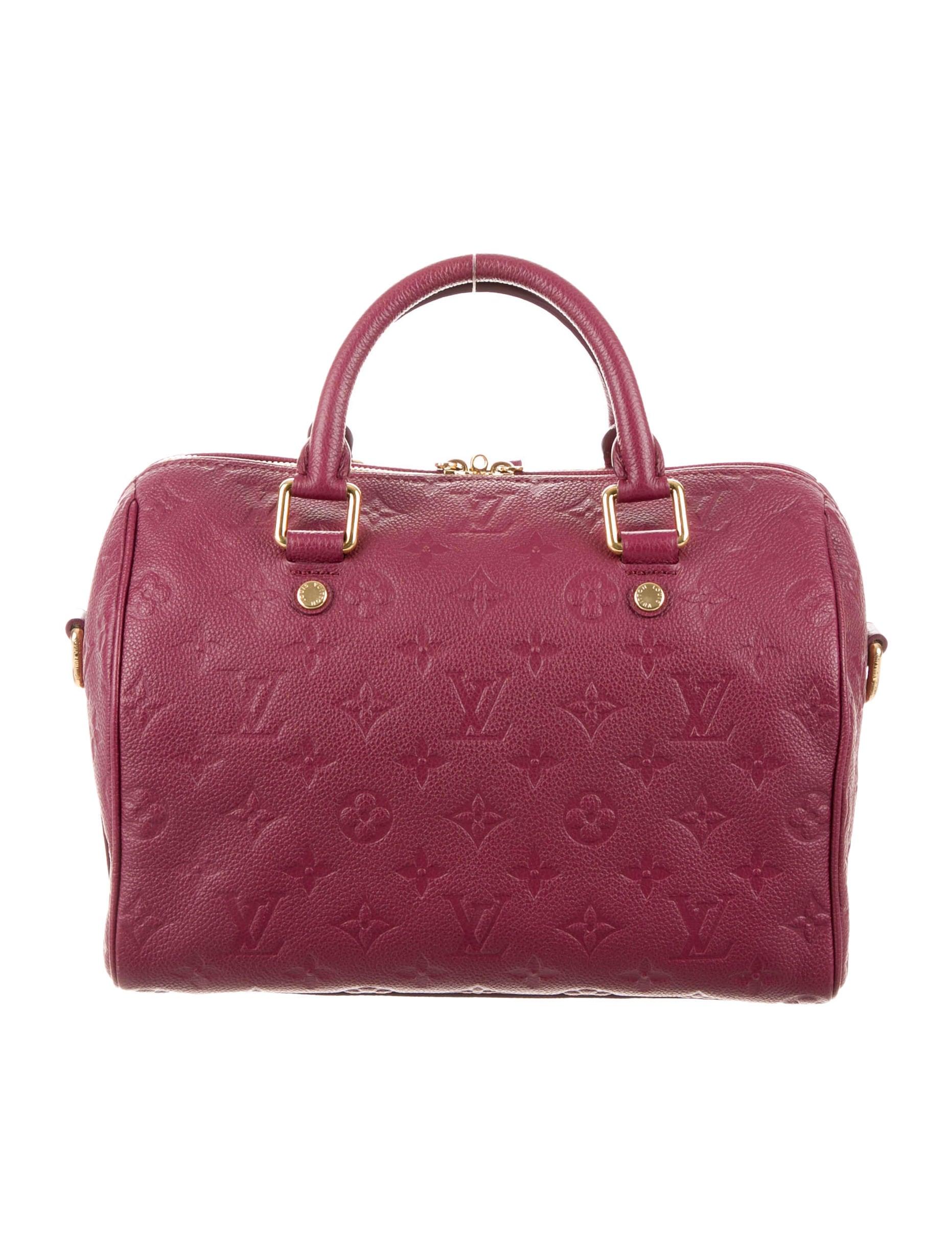 ae4fd6aad247 Louis Vuitton Empreinte Speedy Bandoulière 25 - Handbags - LOU74925 ...
