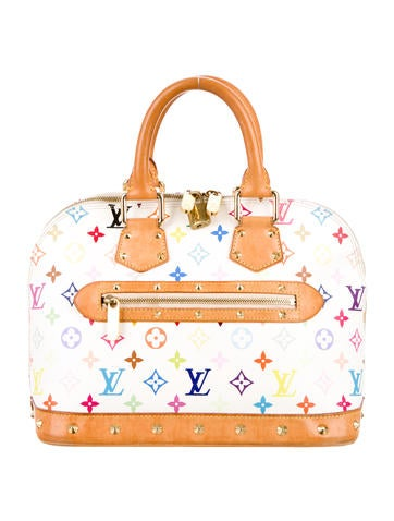 Louis Vuitton Multicolore Alma None