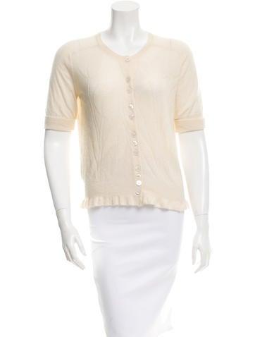 Louis Vuitton Cashmere Silk Knit Top None