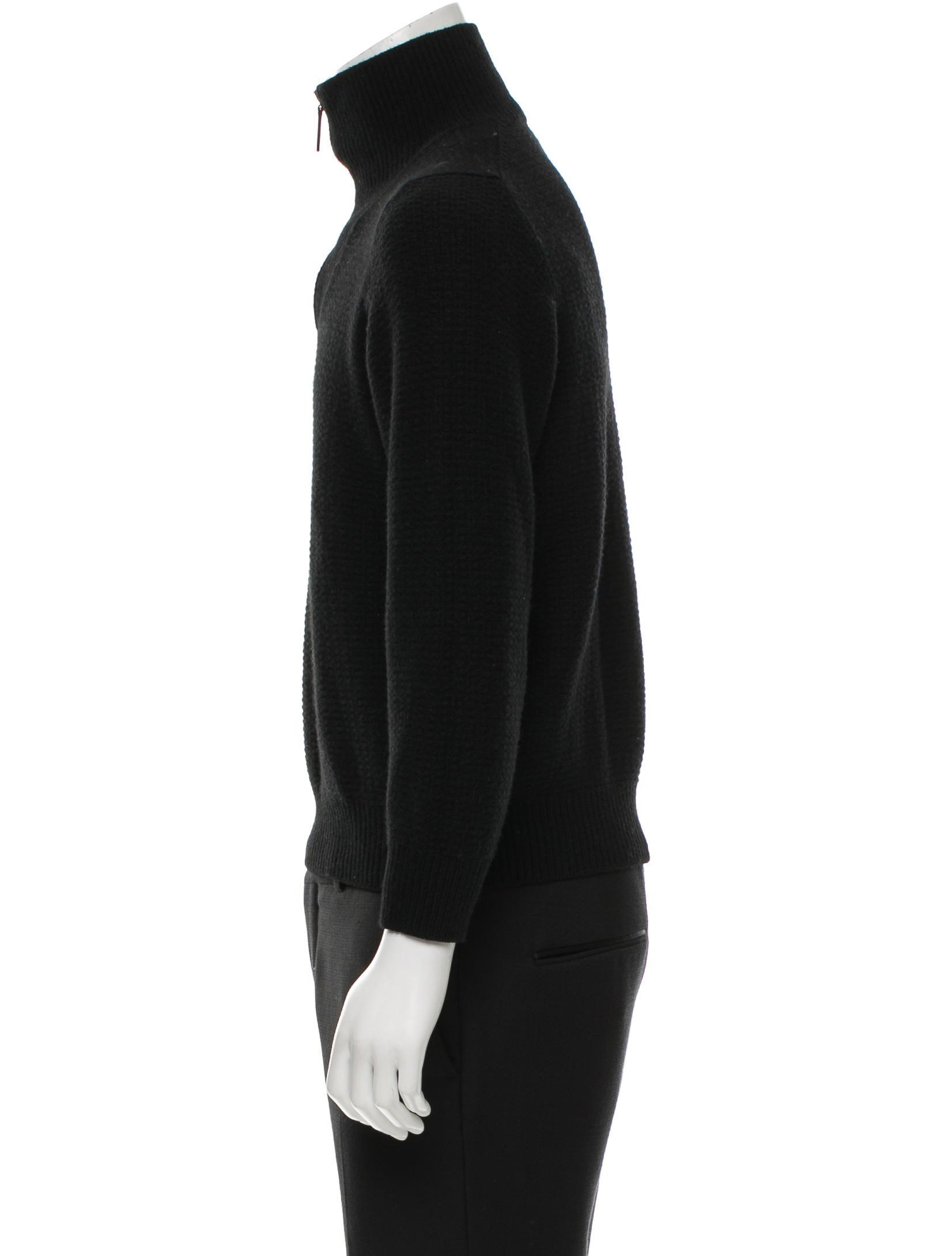 louis vuitton pullover half zip sweater clothing. Black Bedroom Furniture Sets. Home Design Ideas