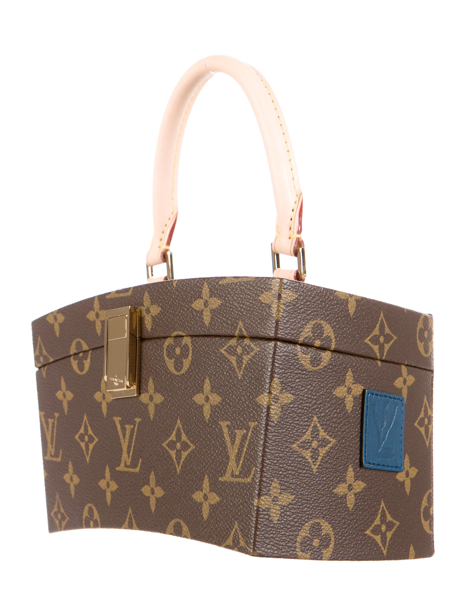Louis vuitton monogram frank gehry twisted box handbags lou78350 the realreal - Frank gehry louis vuitton ...