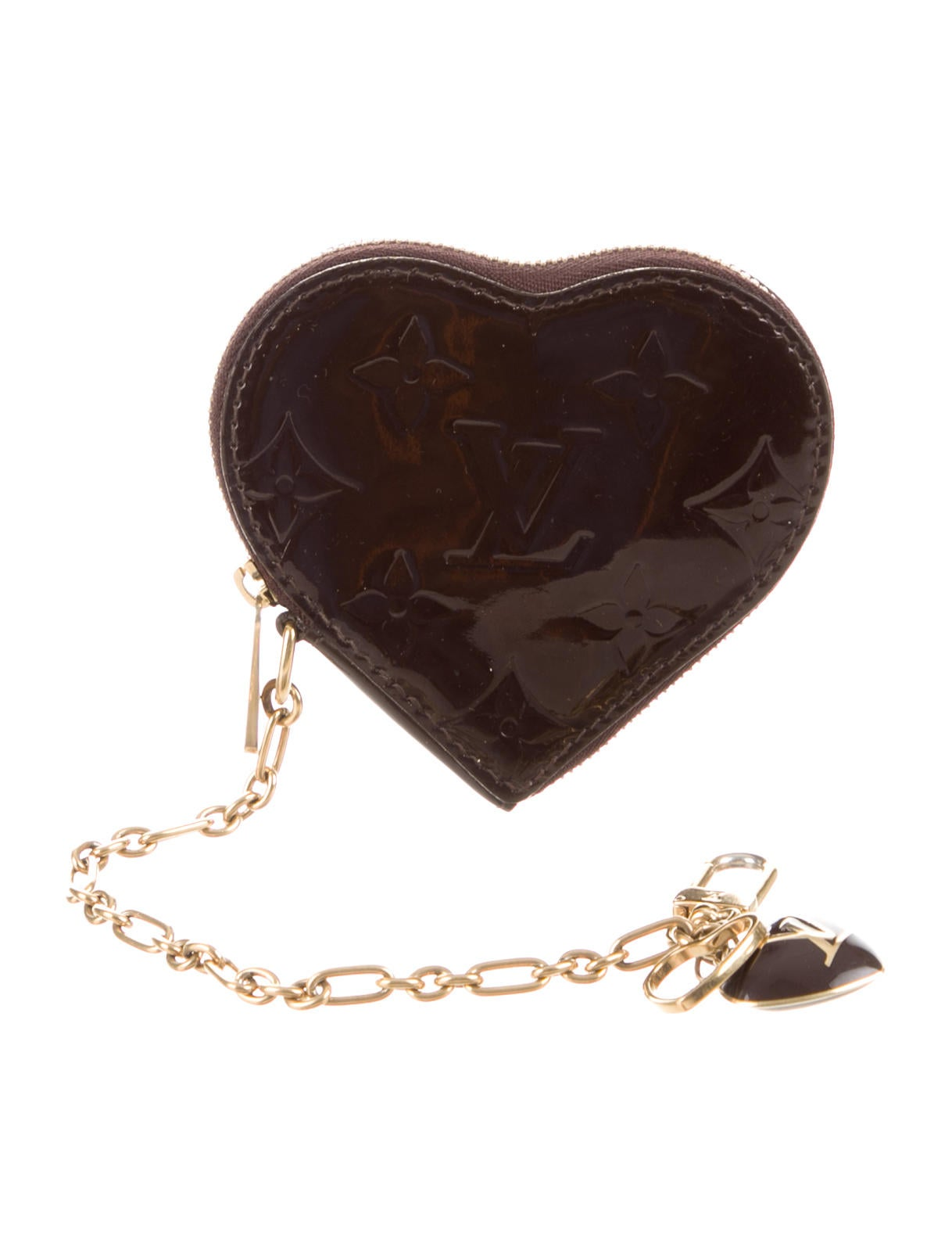 218639614a59 Louis Vuitton Vernis Heart Coin Purse - Accessories - LOU78612
