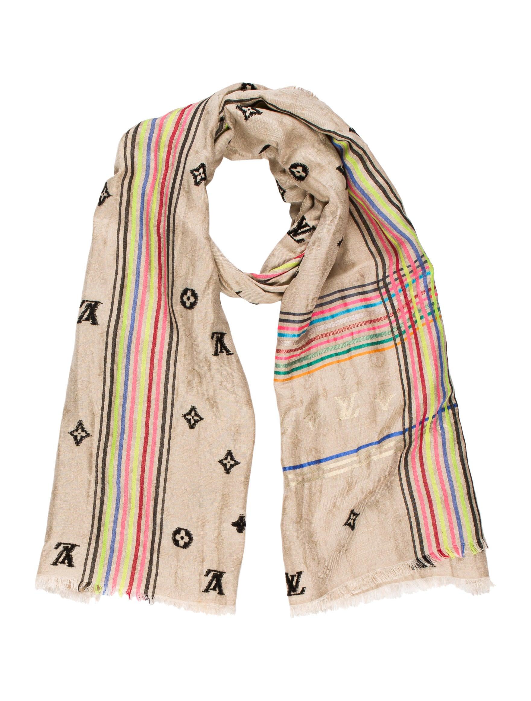 louis vuitton cheche bohemian scarf accessories