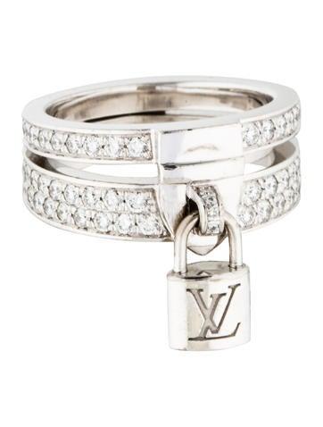 Louis Vuitton Lockit Ring None
