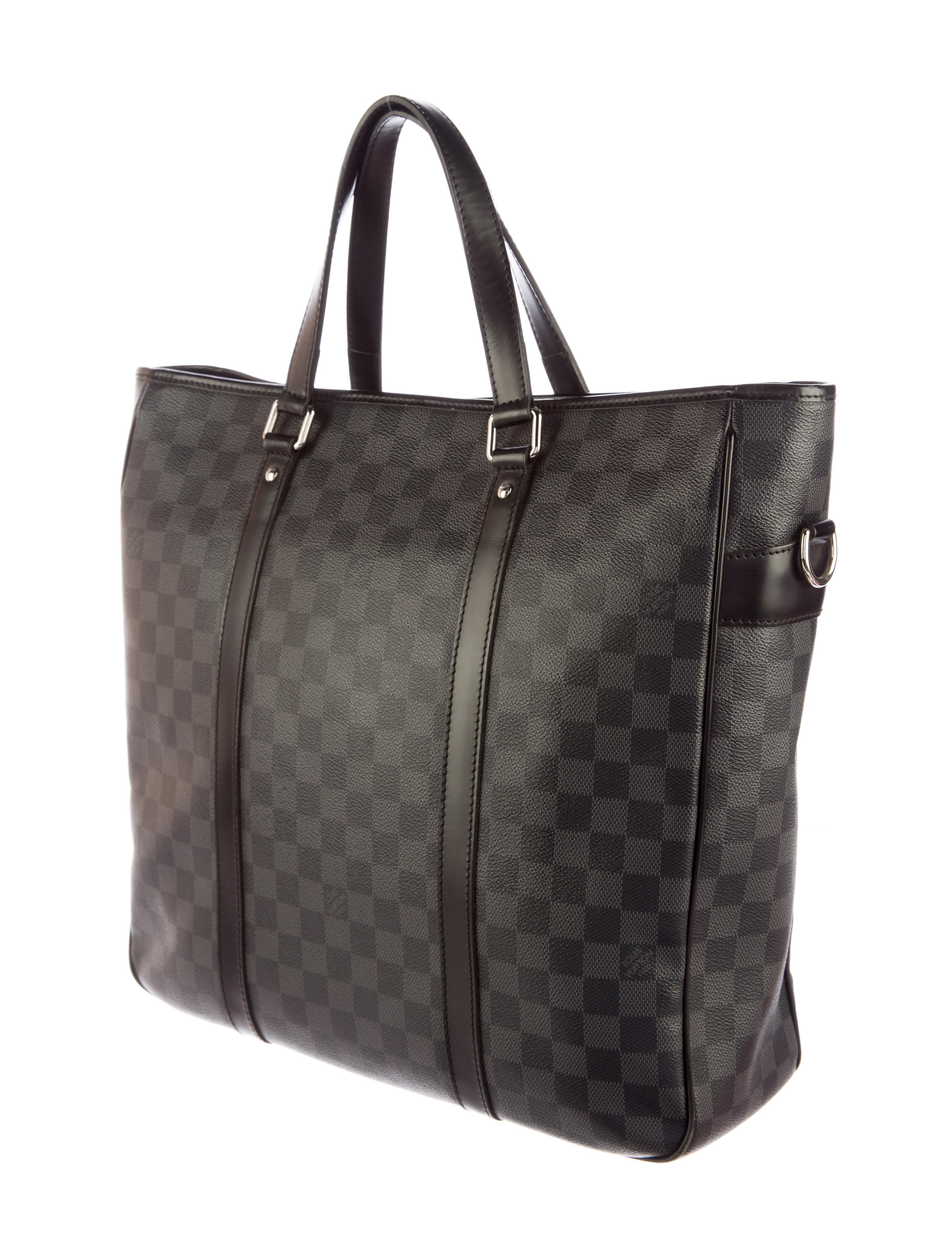 Louis Vuitton Tadao Handbag Damier Graphite Mm GxLfbFPWpK