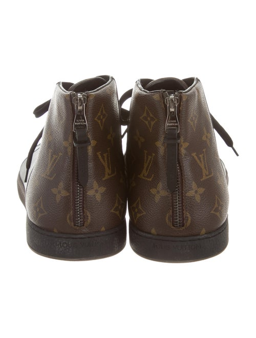 0cc9abde80 Louis Vuitton Line-Up Sneaker Boots - Shoes - LOU82521 | The RealReal