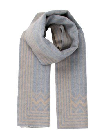 Louis Vuitton Wool Striped Scarf None