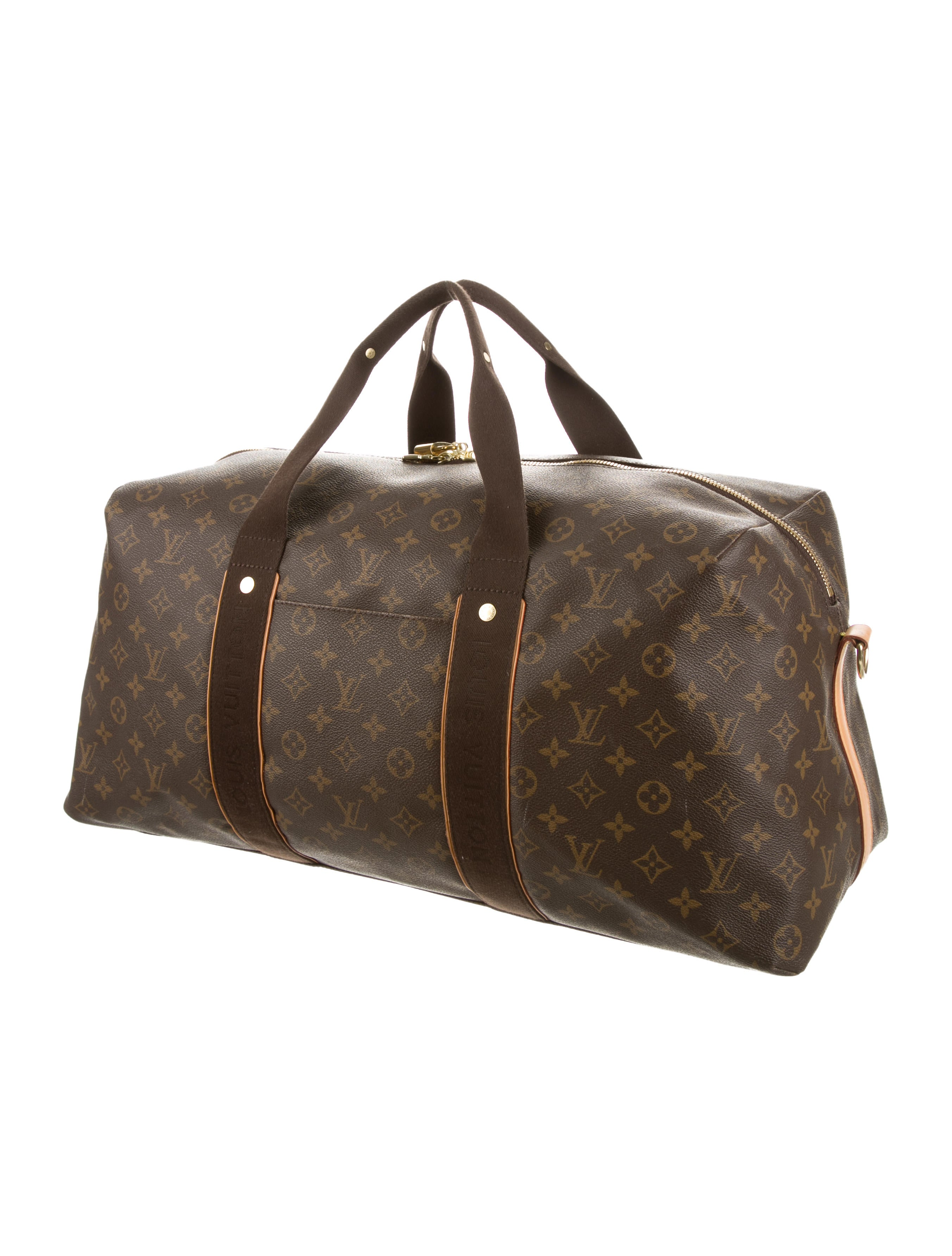 louis vuitton monogram beaubourg weekender handbags lou83851 the realreal. Black Bedroom Furniture Sets. Home Design Ideas