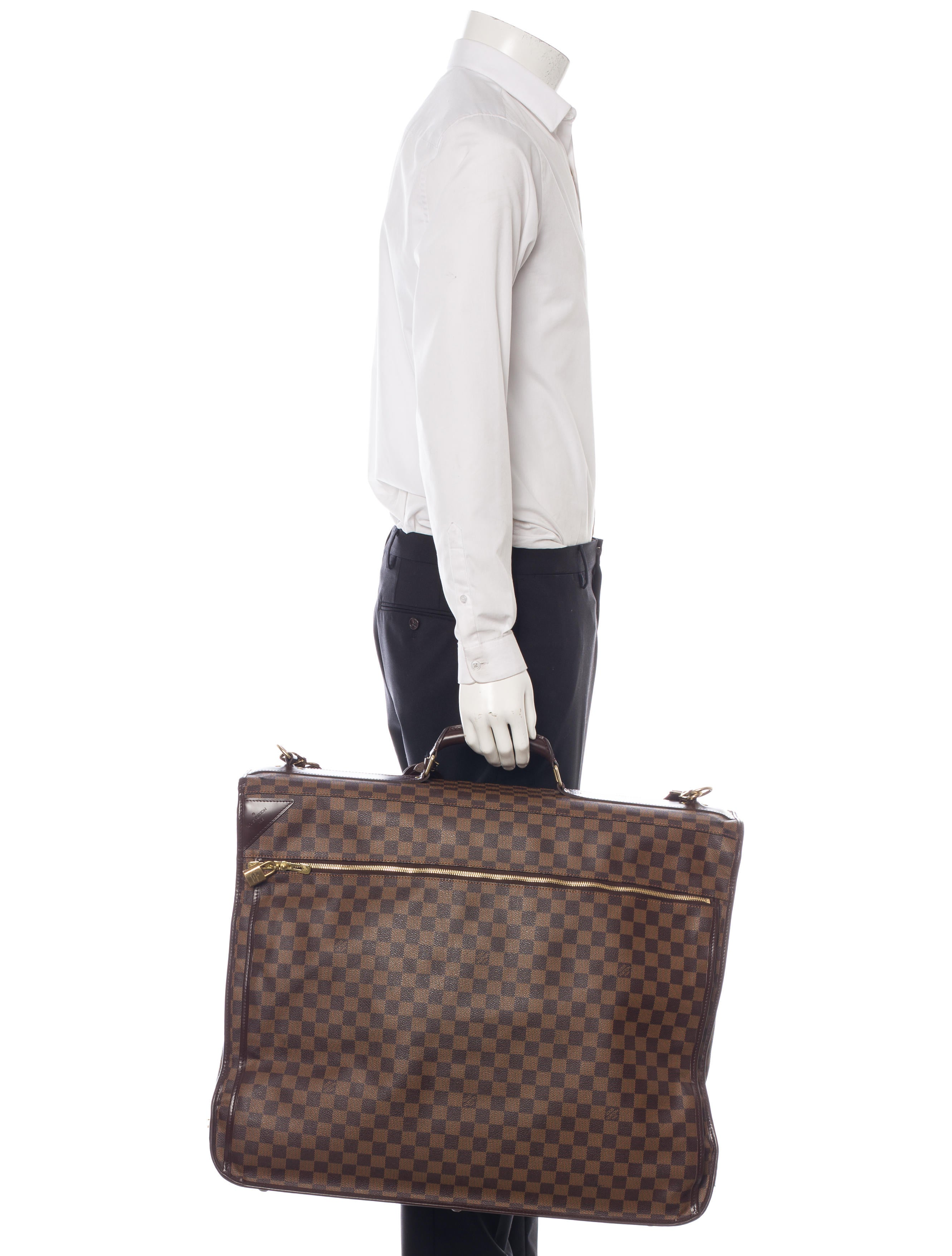Louis Vuitton Damier Ebene Garment Cover Bags Lou84964