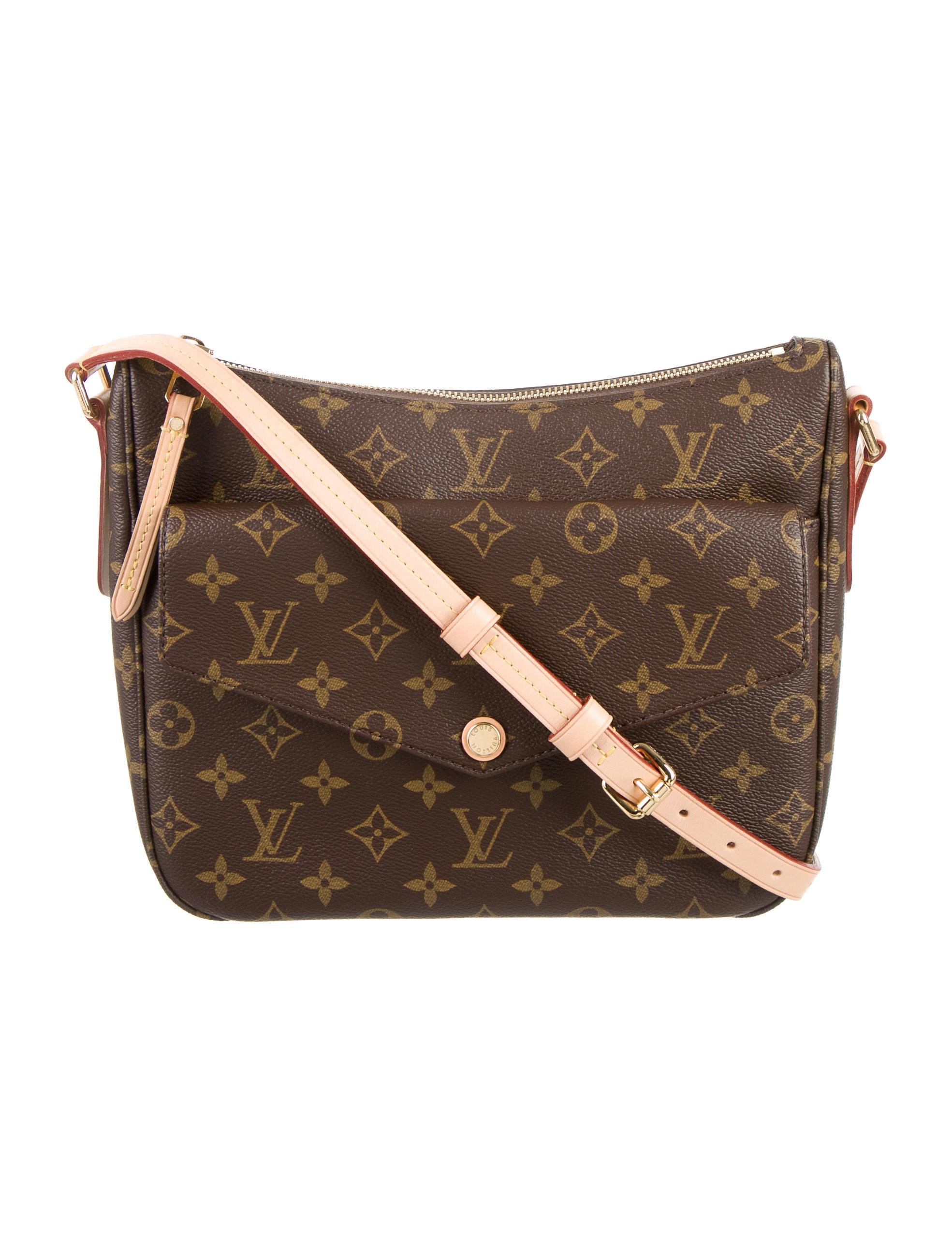 3e64e3438dd8 Louis Vuitton 2016 Monogram Mabillon Crossbody Bag - Handbags ...