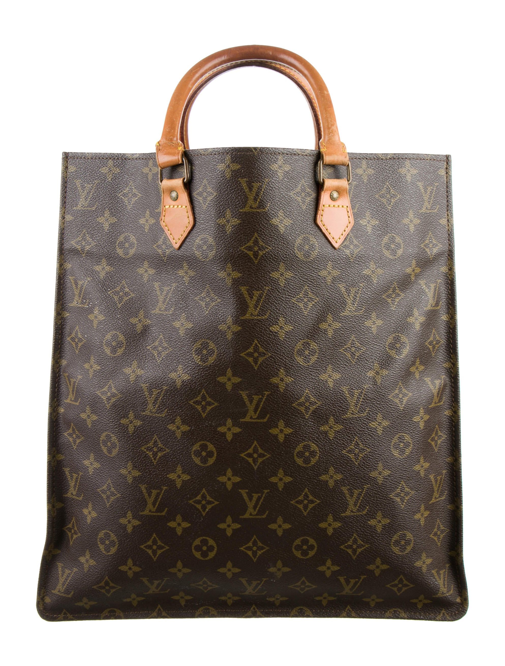 Louis vuitton monogram sac plat handbags lou85899 for Louis vuitton monogram miroir sac plat