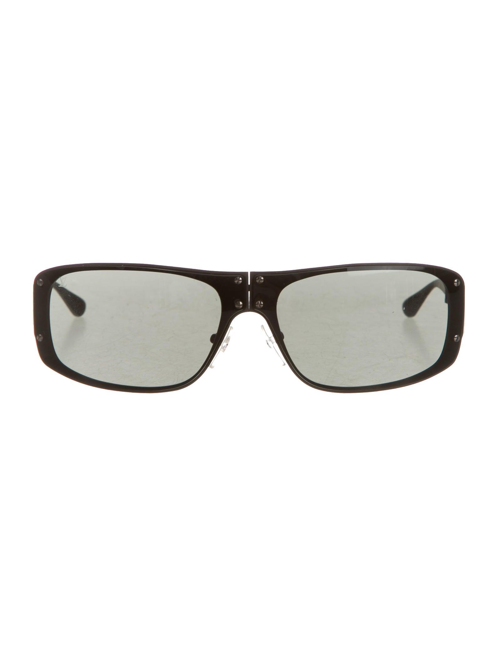 58de1c4fdadd Louis Vuitton Folding Evasion Sunglasses - Accessories - LOU86220 ...
