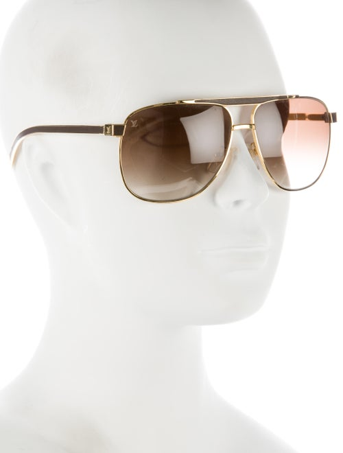 79ff14302a Louis Vuitton Persuasion Carré Aviator Sunglasses - Accessories ...
