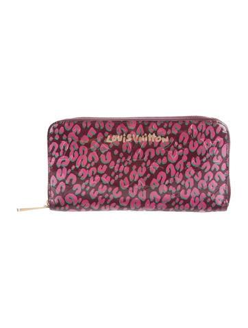 Vernis Leopard Zippy Wallet