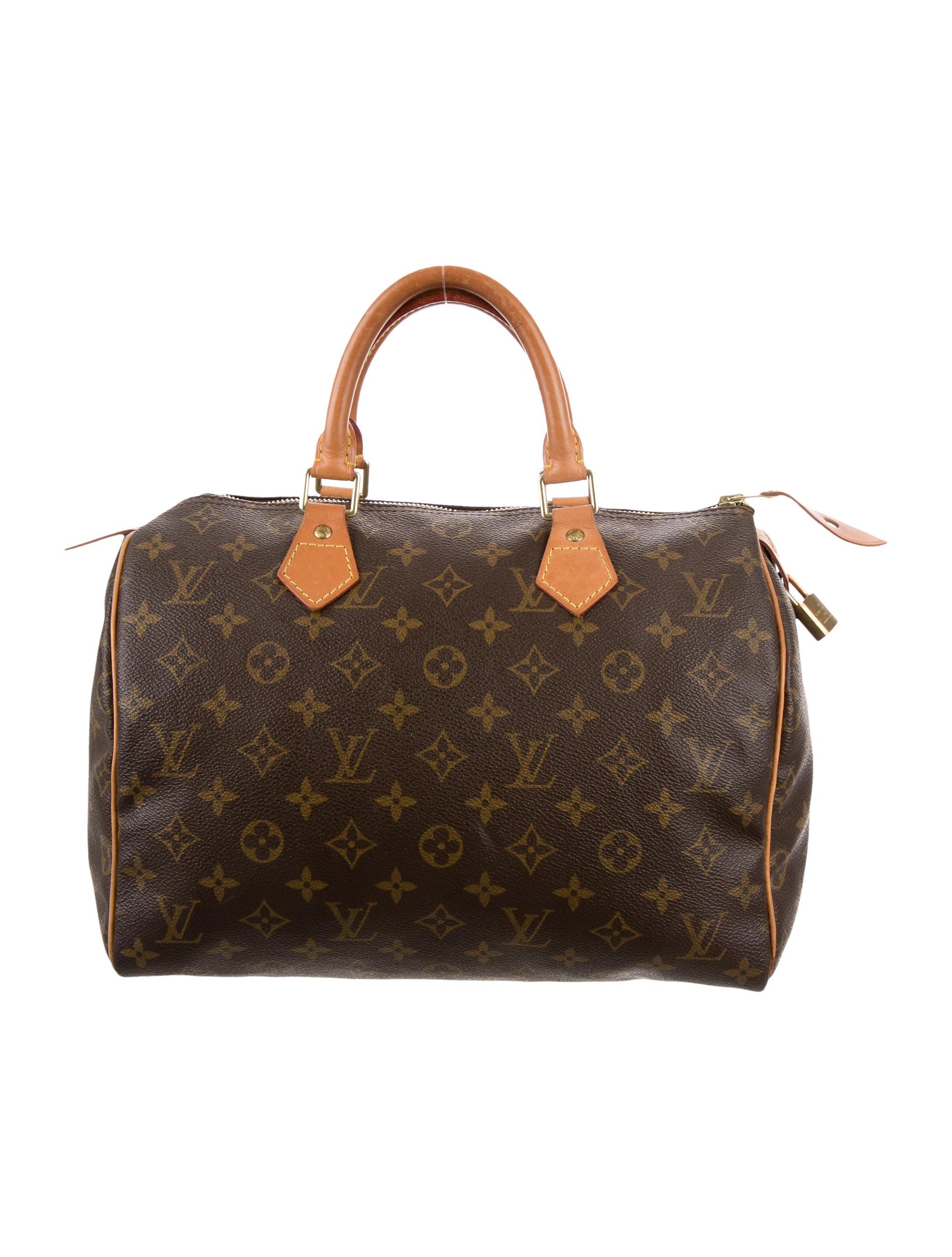 Louis vuitton monogram speedy 30 handbags lou88138 for Louis vuitton miroir speedy 30