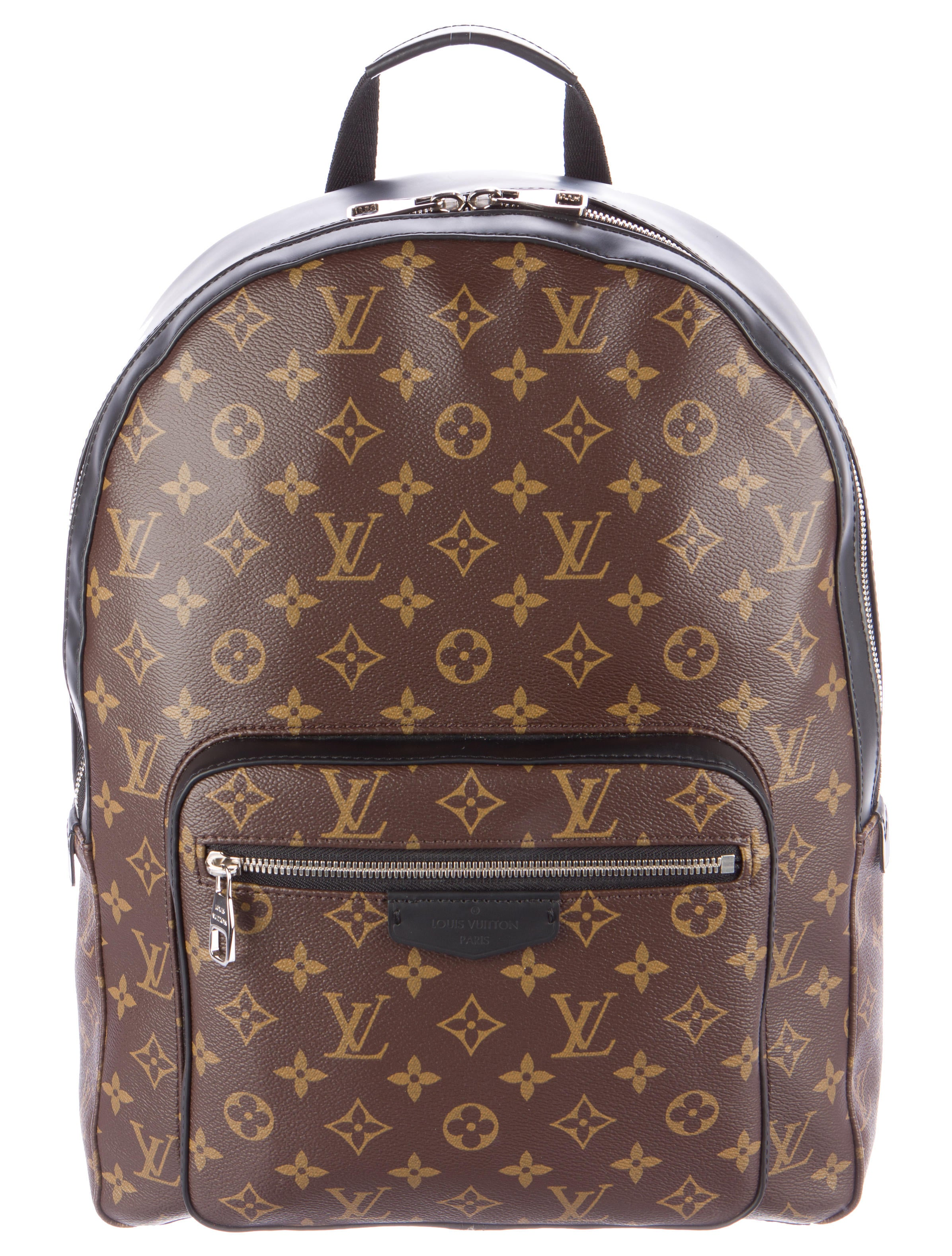 b238bfa5dd25 Louis Vuitton Josh Monogram Macassar Backpack - Bags - LOU88445 ...
