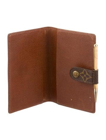 Monogram Pocket Agenda
