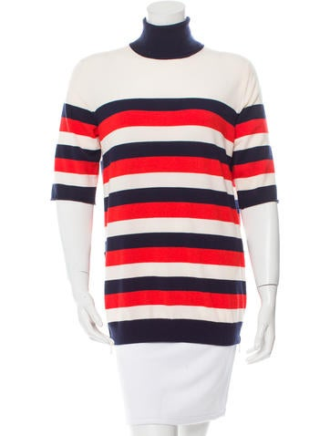 Louis Vuitton Tri-Color Wool Sweater