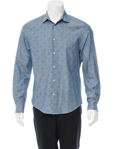 Louis Vuitton Monogram Button Up Shirt Clothing