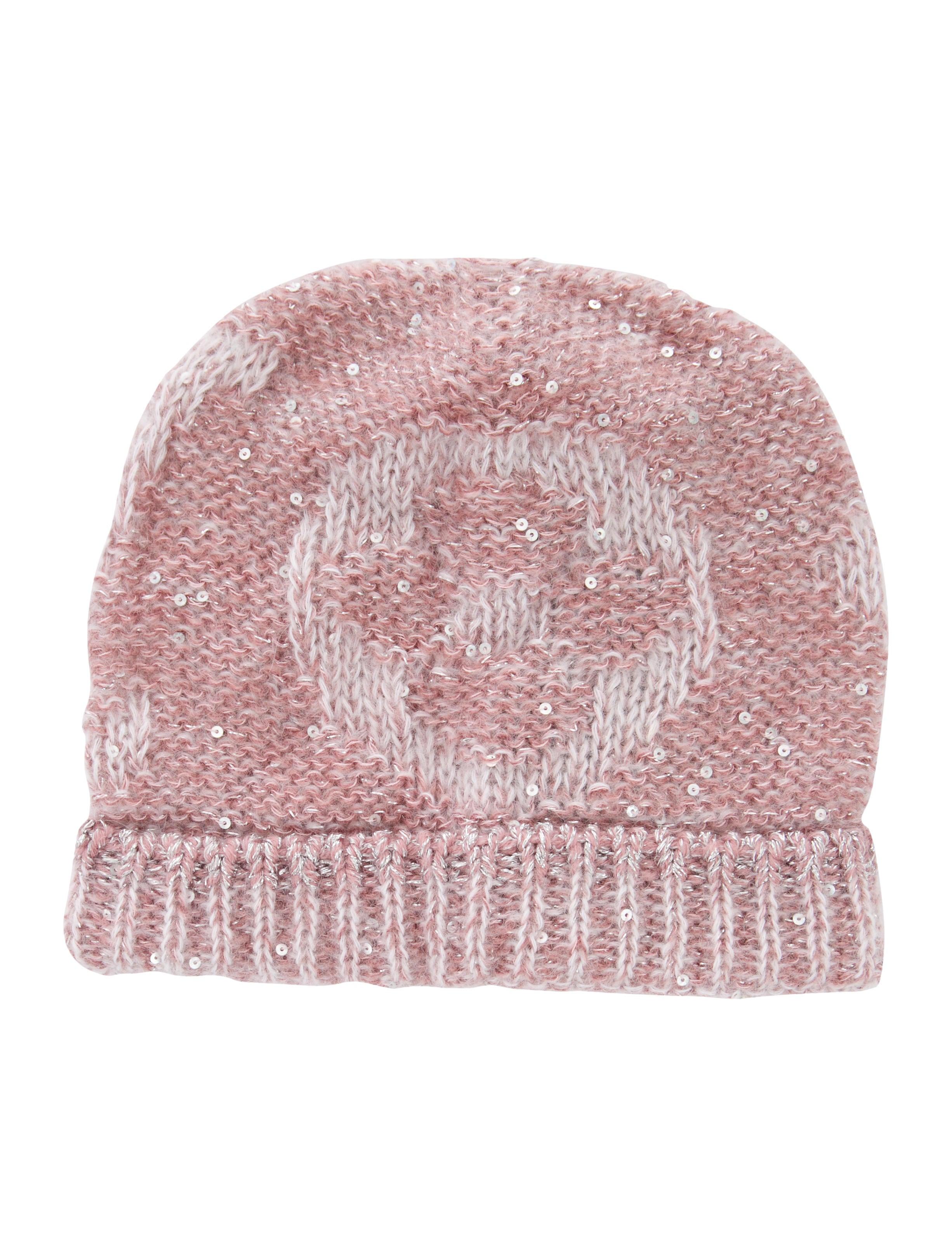 Louis Vuitton Monogram Glitter Sunset Beanie Hat w  Tags ... 5d6eb6ab658