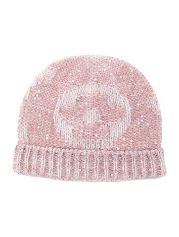 Louis Vuitton Monogram Glitter Sunset Beanie Hat w/ Tags None