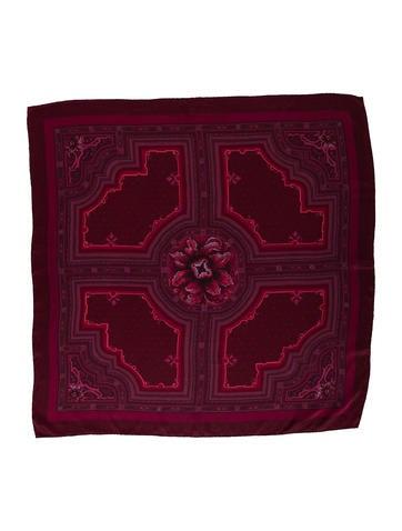Louis Vuitton Printed Silk Scarf None