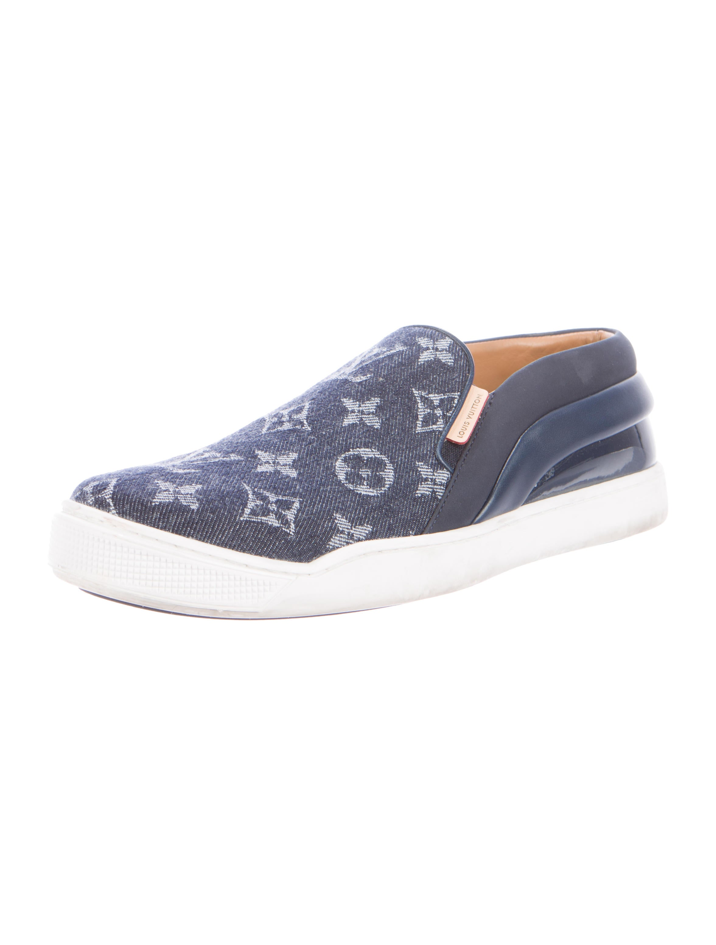 Denim Monogram Tempo Sneakers