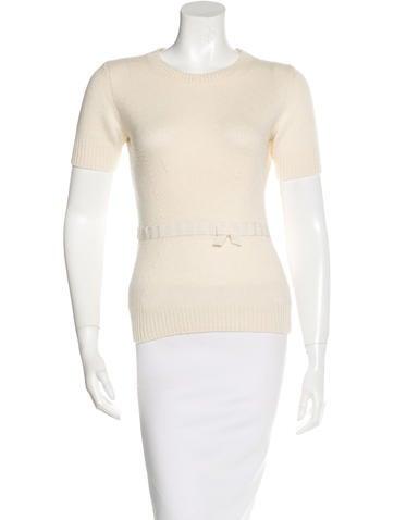 Louis Vuitton Short Sleeve Knit Top None