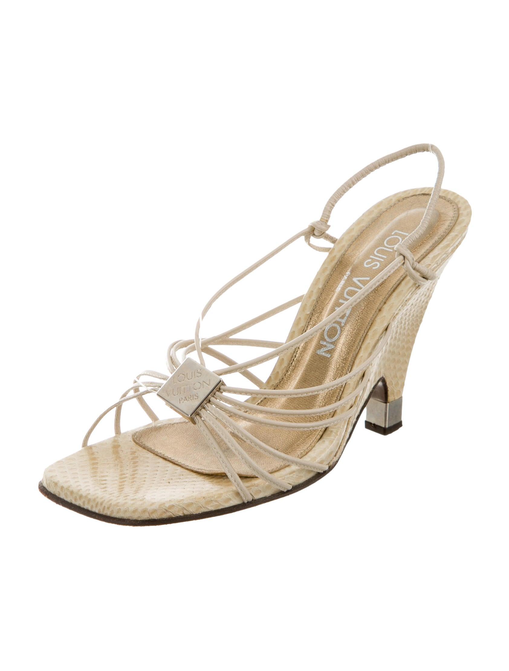 louis vuitton leather wedge sandals shoes lou91379