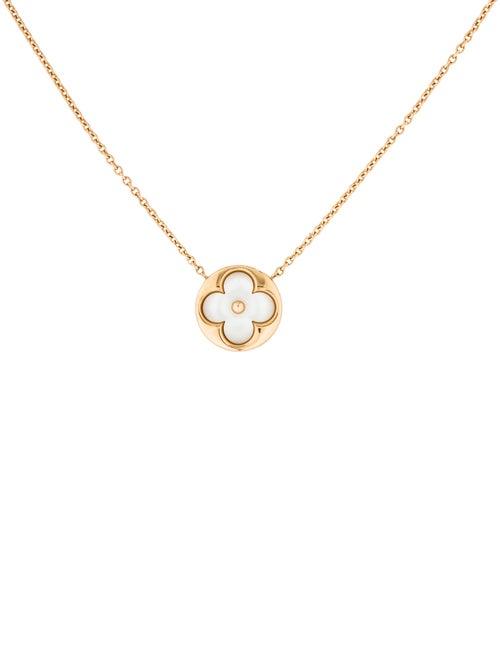 e200cca2106 Louis Vuitton 18K Color Blossom Sun Pendant Necklace - Necklaces ...