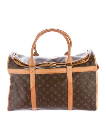 Louis Vuitton Louis Vuitton Sac Chien 50 Pet Carrier None