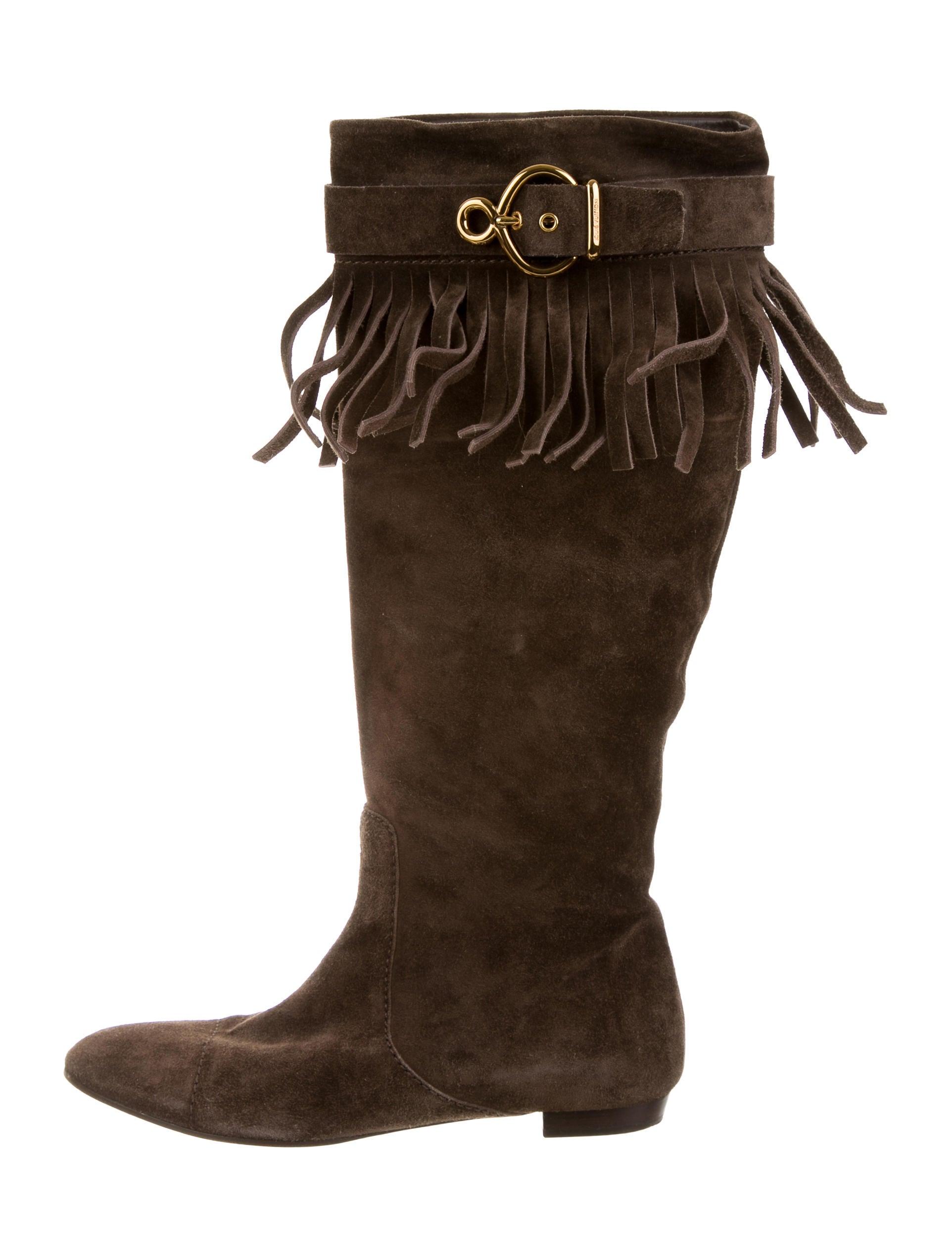 louis vuitton suede fringe boots shoes lou91853 the