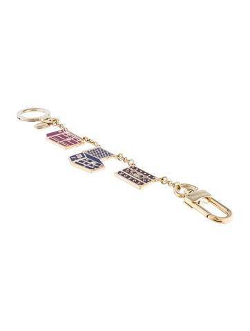 Porte Cles Malle Chaine Keychain