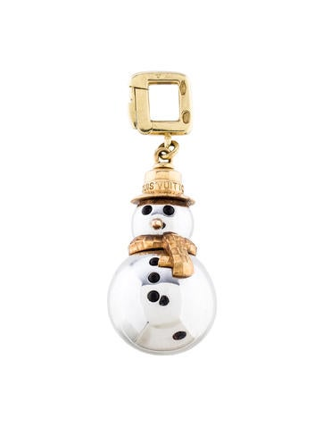 Louis Vuitton Snowman Charm