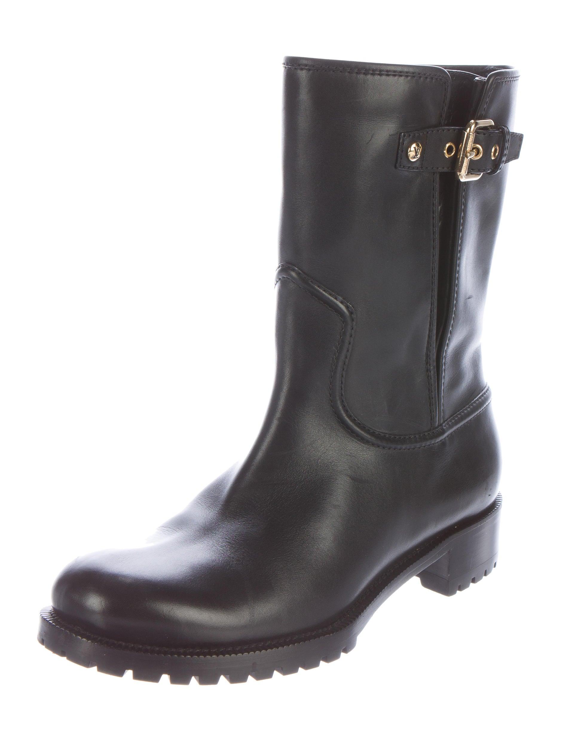 louis vuitton leather monogram boots shoes lou92519
