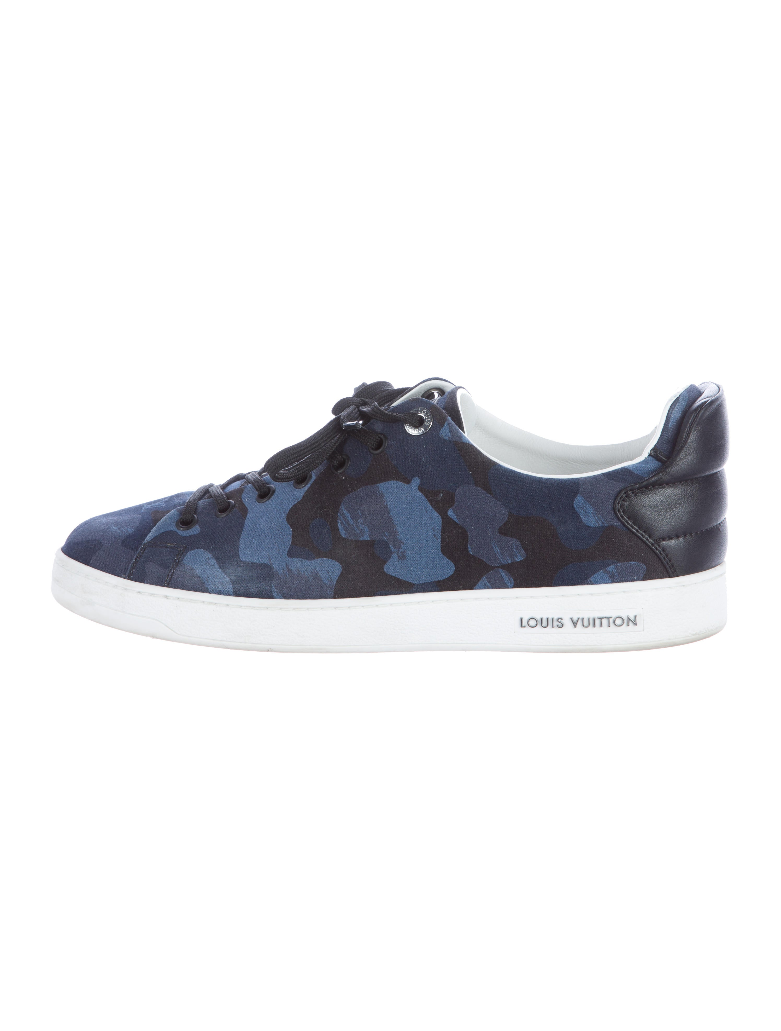 7434aa7bbcd Louis Vuitton 2016 Frontrow Camouflage Sneakers - Shoes - LOU92818