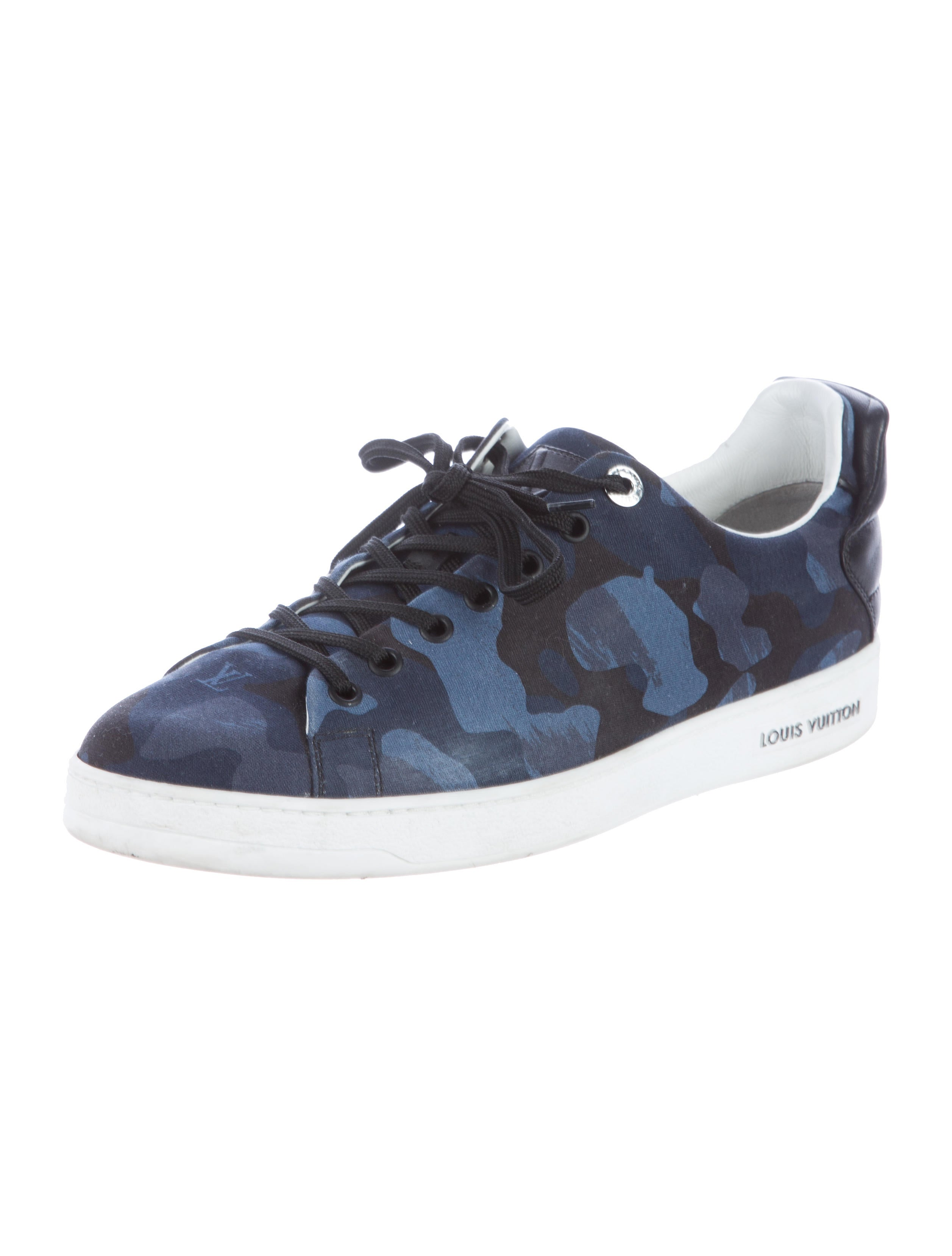 Louis Vuitton 2016 Frontrow Camouflage Sneakers Shoes  : LOU928182enlarged from www.therealreal.com size 2514 x 3317 jpeg 260kB