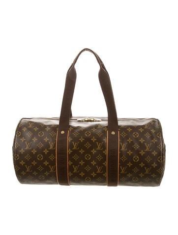 louis vuitton monogram beaubourg weekender handbags lou93084 the realreal. Black Bedroom Furniture Sets. Home Design Ideas
