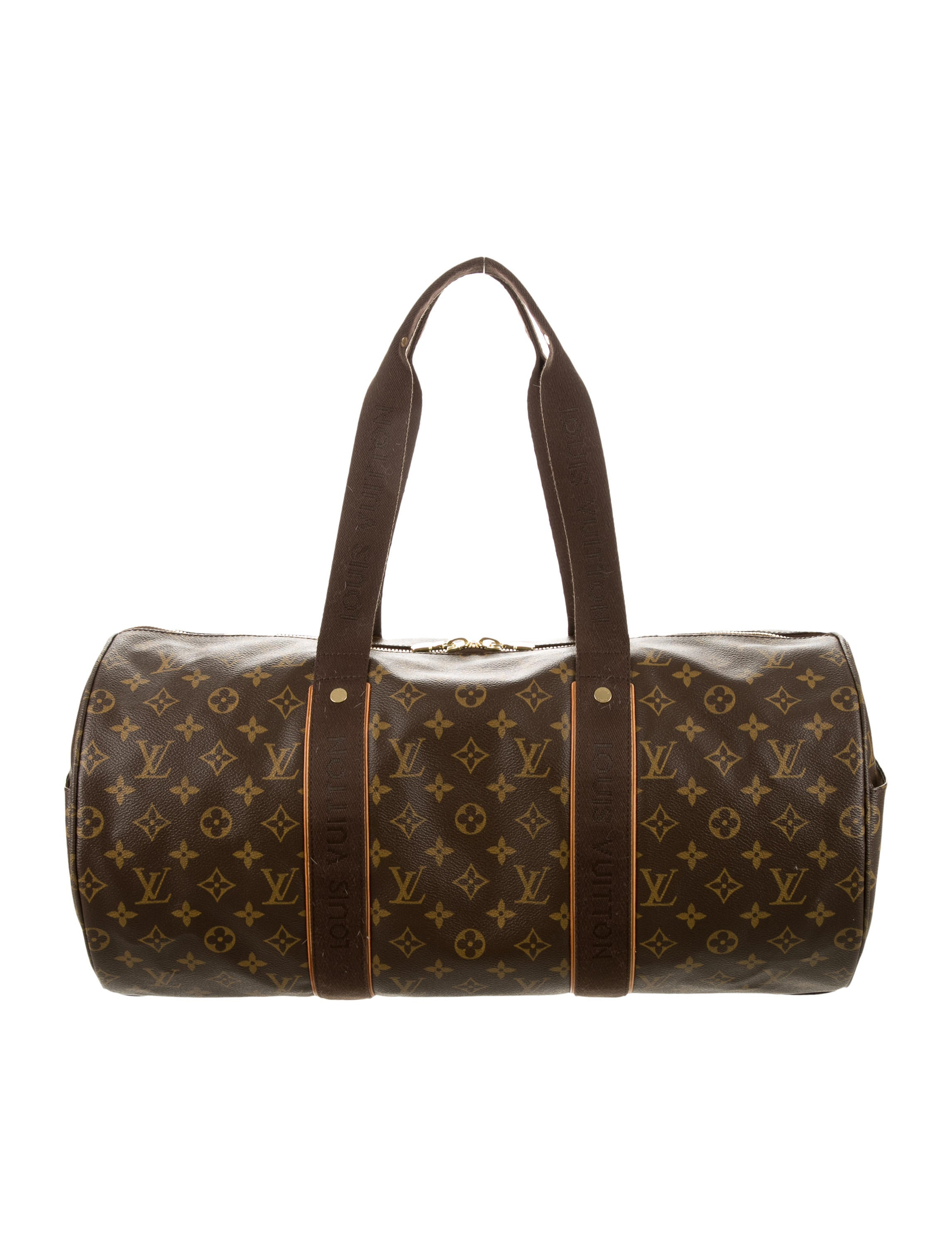 louis vuitton monogram beaubourg weekender handbags lou93084 the realreal. Black Bedroom Furniture Sets. Home Design Ideas