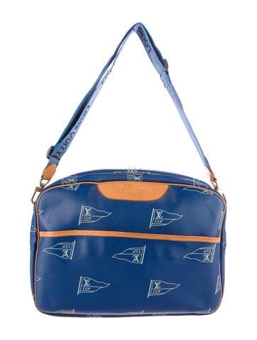 Louis Vuitton America's Cup Reporter Messenger Bag None