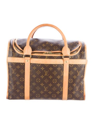 Louis Vuitton Louis Vuitton Sac Chien 40 Pet Carrier None