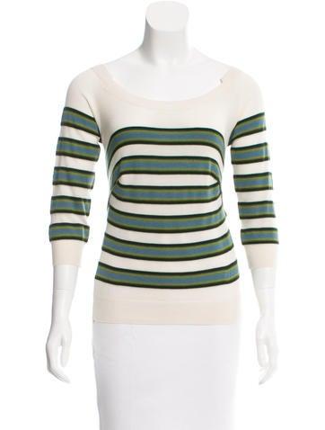 Louis Vuitton Cashmere Striped Sweater None