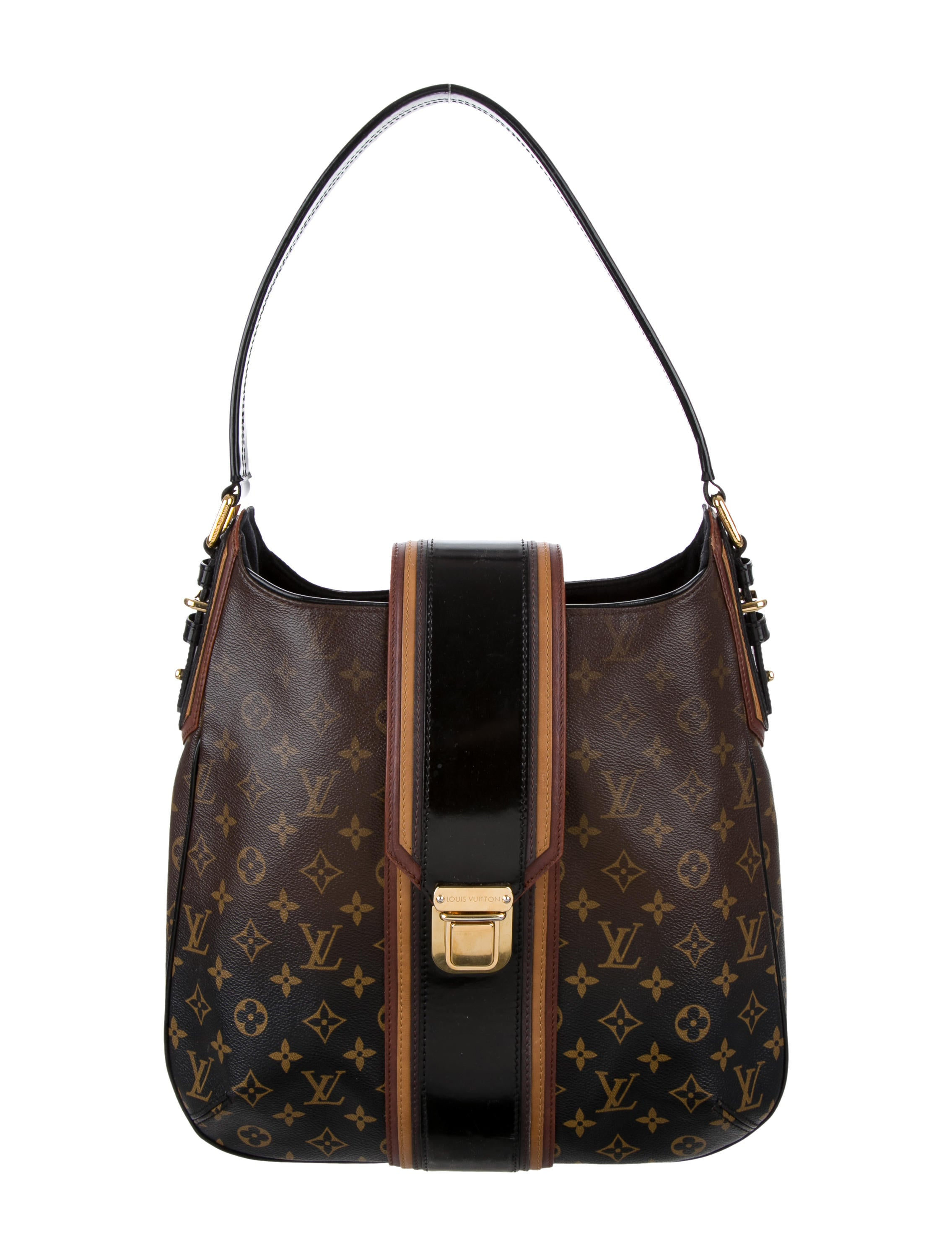 louis vuitton mirage musette bag handbags lou93734 the realreal. Black Bedroom Furniture Sets. Home Design Ideas