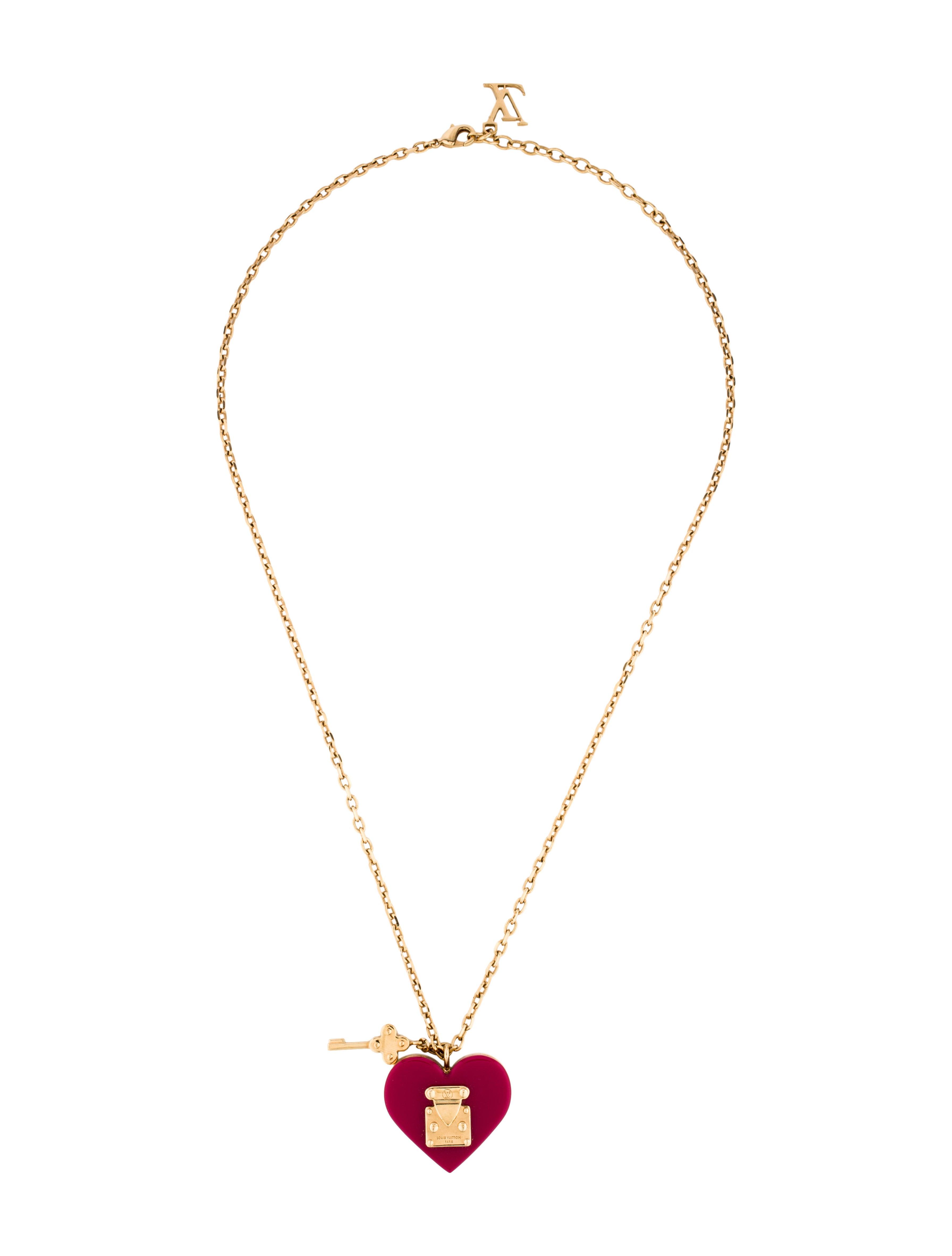 11149a6a2a15 Louis Vuitton Lock Me Pendant Necklace Necklaces Lou94104 The