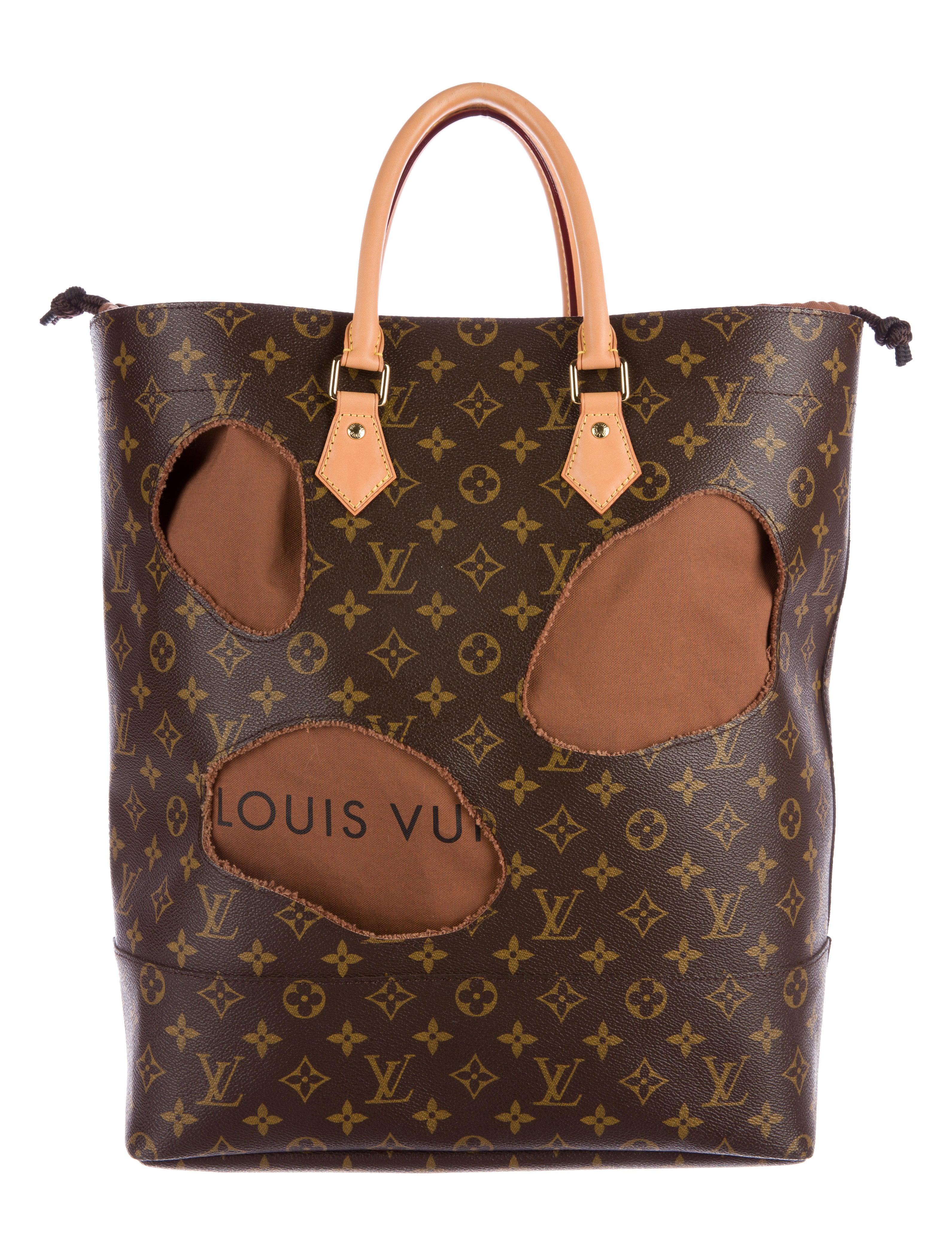 7f18fedcdaf1 Louis Vuitton Rei Kawakubo Monogram Bag With Holes - Bags - LOU94890 ...