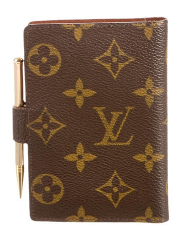 Monogram Mini Agenda Cover