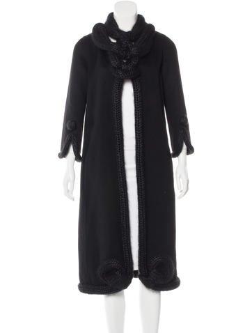 Louis Vuitton Cashmere Long Coat None