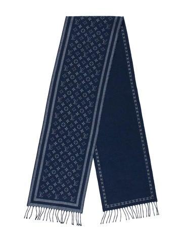 Louis Vuitton Monogram Lurex Scarf None