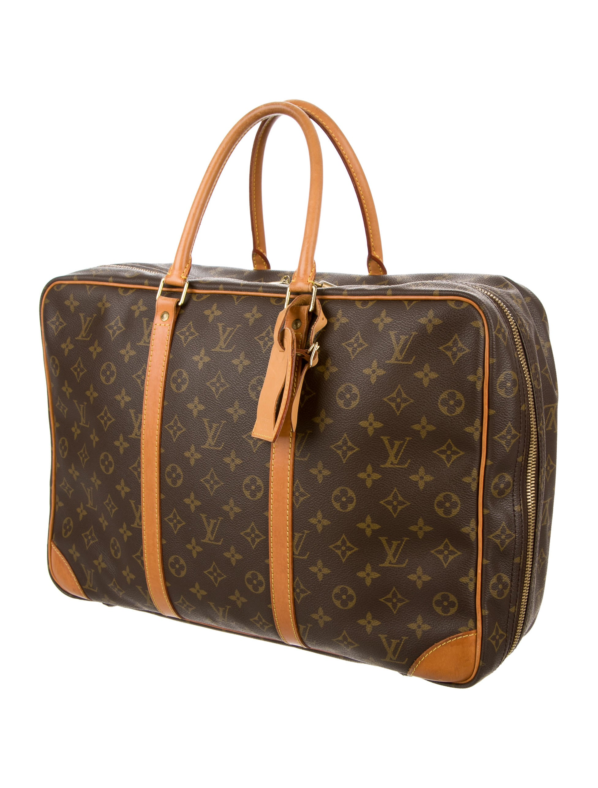 louis vuitton monogram sirius 45 luggage lou95995 the realreal. Black Bedroom Furniture Sets. Home Design Ideas