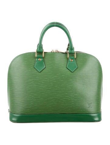 Louis Vuitton Epi Alma MM None